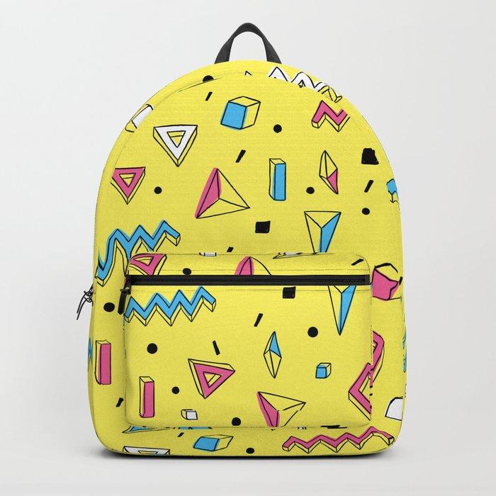 Memphis Art Backpack