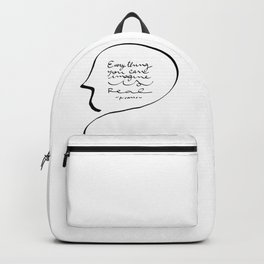 Everything you can imagine is real Backpack