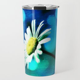 Azurite Malachite Daisy Travel Mug