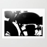 motorbike Art Prints featuring Motorbike by Paolo Mazzanti