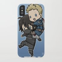 stucky iPhone & iPod Cases featuring Stucky On You by DeanDraws