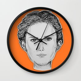 (The Most Beautiful Woman - Natalie Portman) - yks by ofs珊 Wall Clock