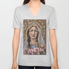 Nativity of Mary Unisex V-Neck