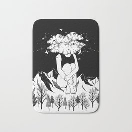 Across The Universe Bath Mat