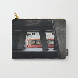 Metro in Berlin - Kreuzberg Germany photo | Urban street urbanscape color photography art print Carry-All Pouch