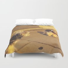 Cute Yorkshire lovers Duvet Cover