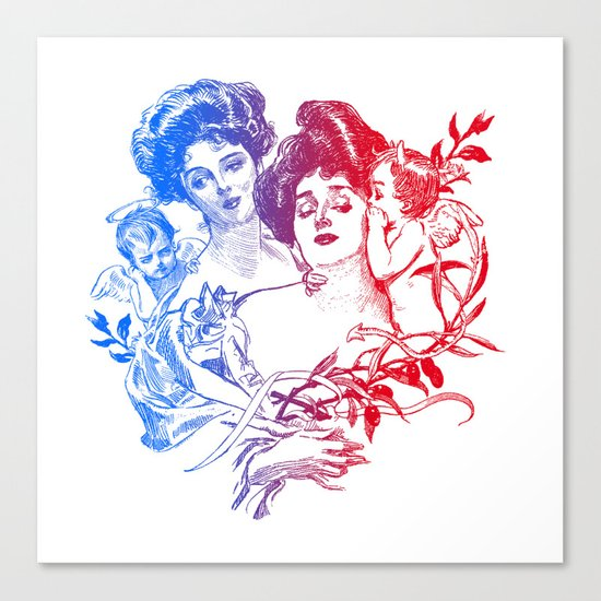 Little Whispers Canvas Print