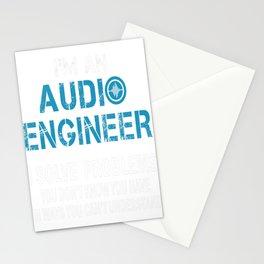 AUDIO ENGINEER Tshirt Stationery Cards