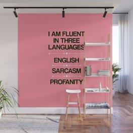 Language Proficiency Wall Mural