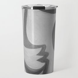 One Eyed Queen by Terry Horton Travel Mug