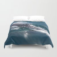 dolphin Duvet Covers featuring Dolphin by WonderfulDreamPicture