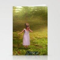 fairy tale Stationery Cards featuring Fairy Tale by Susann Mielke