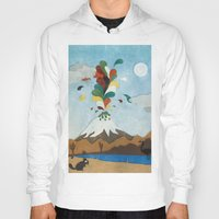 chile Hoodies featuring Norte de Chile by i am nito