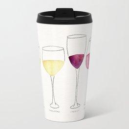 Wine Collection Travel Mug