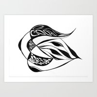 Aqua Zae Art Print