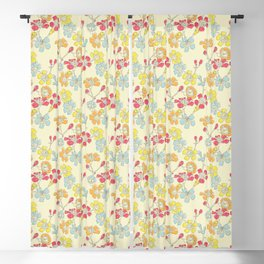 Geraldton Wax Flowers Blackout Curtain