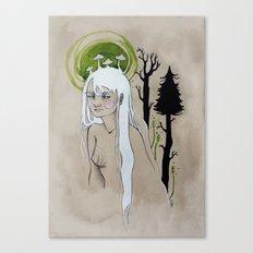 unimpressed wood nymph Canvas Print