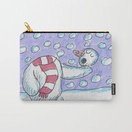 Christmas #5 Snow Hamlet Carry-All Pouch