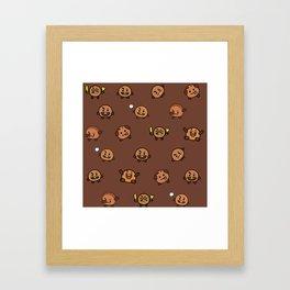 BT21 - Cute Shooky Framed Art Print