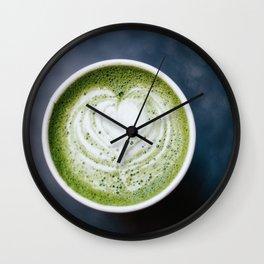 Matcha Love Wall Clock
