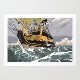 Sailors & Pirates Art Print