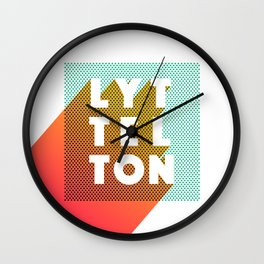Lyttelton Dots Wall Clock
