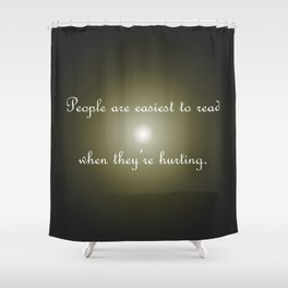 Easiest to Read Shower Curtain