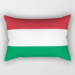 flag of Hungary Rectangular Pillow