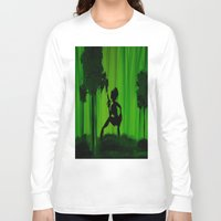 astrology Long Sleeve T-shirts featuring The Astrology  sign Sagittarius by Krista May