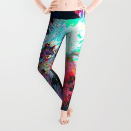 Athēnaḯs (Abstract 41) Leggings