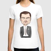 leonardo dicaprio T-shirts featuring Leonardo DiCaprio by drawgood