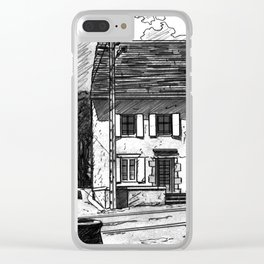 Montboudif, birthplace of Geoges Pompidou Clear iPhone Case