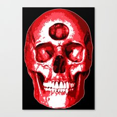 Third Eye Bones (Raw Edition) Canvas Print