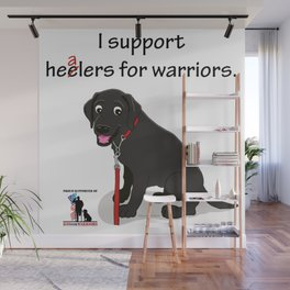 Lab Supports Healers For Warriors Wall Mural