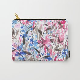 Wandering Wildflowers Pink  Carry-All Pouch