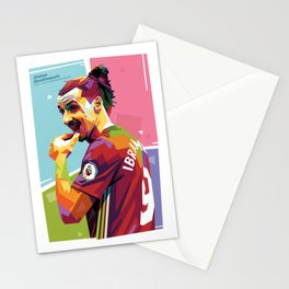 Zlatan Ibrahimovic alt-color WPAP Stationery Cards
