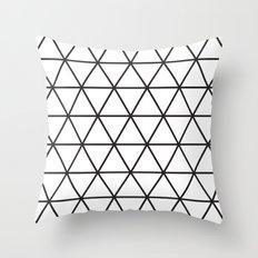 Isometric Pattern Throw Pillow