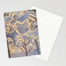 Love amongst the trees Stationery Cards