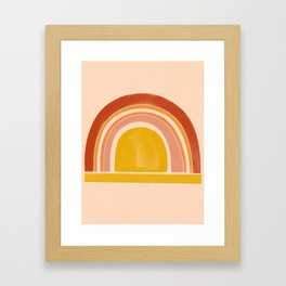 autumn sunshine 1 Framed Art Print