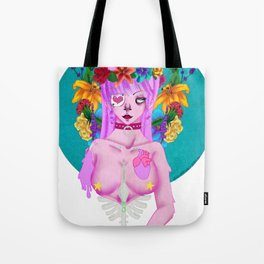Dripping Femme Fatal Tote Bag