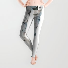 Birch Tree forest Leggings