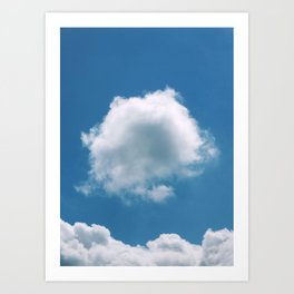 Nature's Cotton Wool Art Print