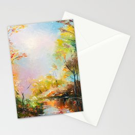 FALL FOREST Stationery Cards