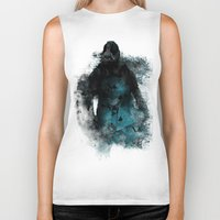 bane Biker Tanks featuring Abstract BANE by DesignLawrence