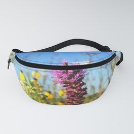 Prarie Liatris and coneflowers Fanny Pack
