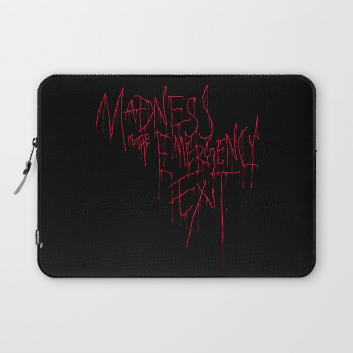Madness Emergency Exit Laptop Sleeve