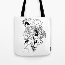 Begin to Shine Ink Doodle Tote Bag