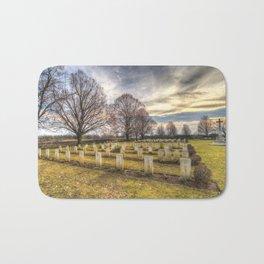 World War 2 War Graves Budapest Bath Mat