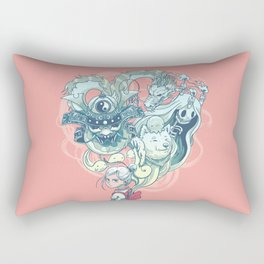 Pocket Ghosts Rectangular Pillow
