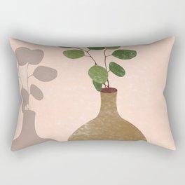 The Shadow of Jade Rectangular Pillow